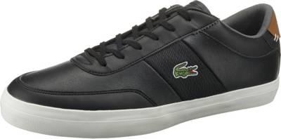 LowSchwarz Sneakers LacosteCourt Master Master LacosteCourt XkOiuPZ