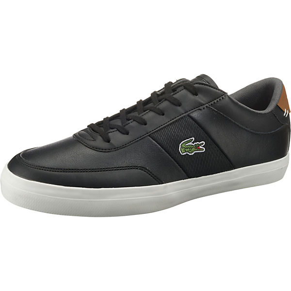LACOSTE Court schwarz Sneakers Low Master Sqx0rwvAq