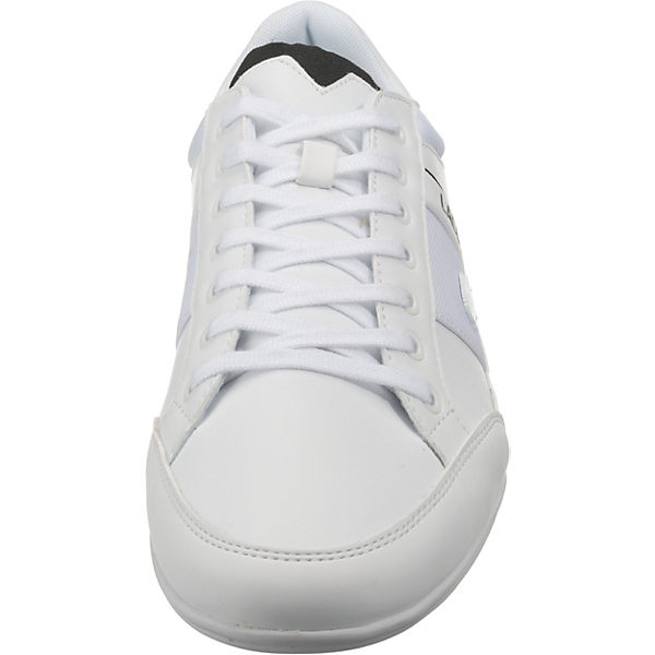 LACOSTE, Chaymon Sneakers Low, weiß weiß weiß  Gute Qualität beliebte Schuhe 939ae9