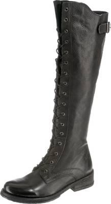 Felmini Crepona Klassische Stiefel, schwarz, schwarz-kombi
