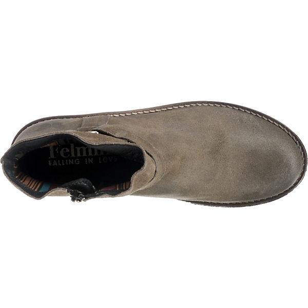 Felmini, Klassische Crepa Klassische Felmini, Stiefeletten, grau/braun   071d31