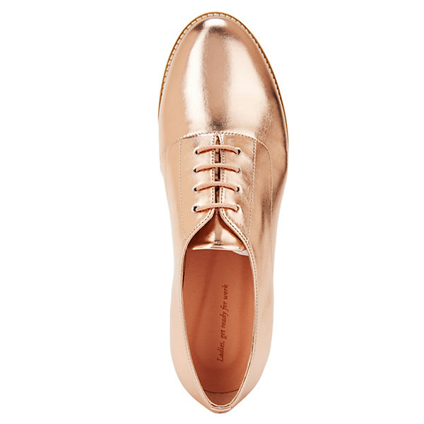 NINE TO FIVE, Turnschuhe gold #bella Klassische Halbschuhe, gold Turnschuhe Gute Qualität beliebte Schuhe 8e8763