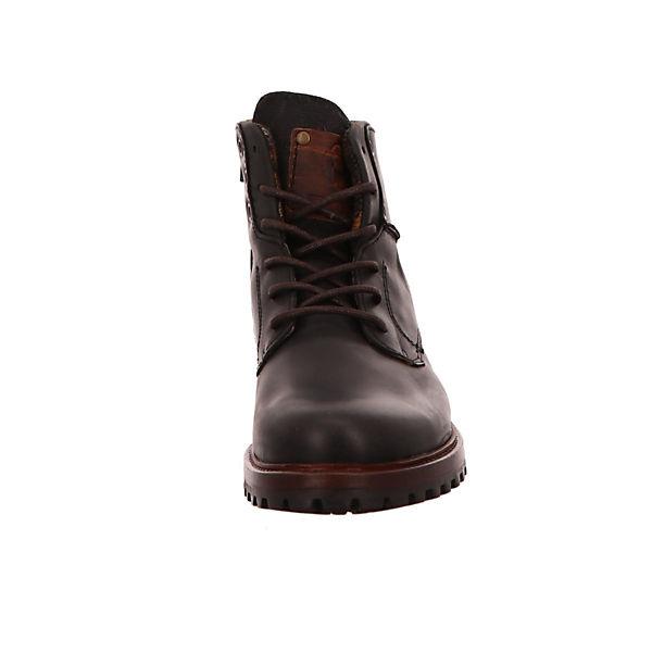 BULLBOXER, Schnürstiefeletten, beliebte schwarz  Gute Qualität beliebte Schnürstiefeletten, Schuhe cc8b16