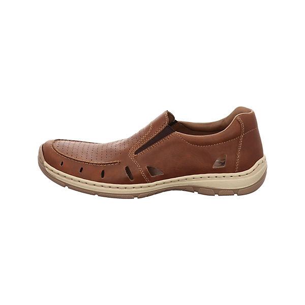 rieker Klassische Slipper braun  Gute Qualität beliebte Schuhe