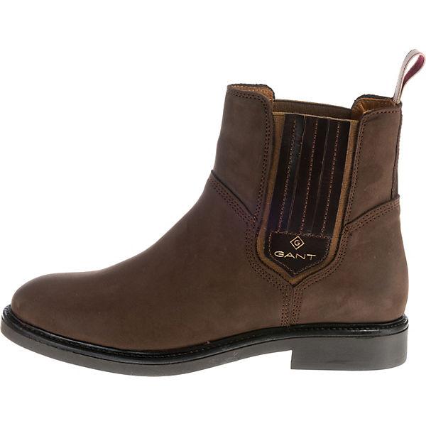 super popular 1b6eb fab16 GANT, Ashley Chelsea Boots, braun | mirapodo