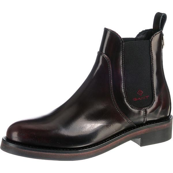 new style a722b 9a252 GANT, Malin Chelsea Boots, bordeaux