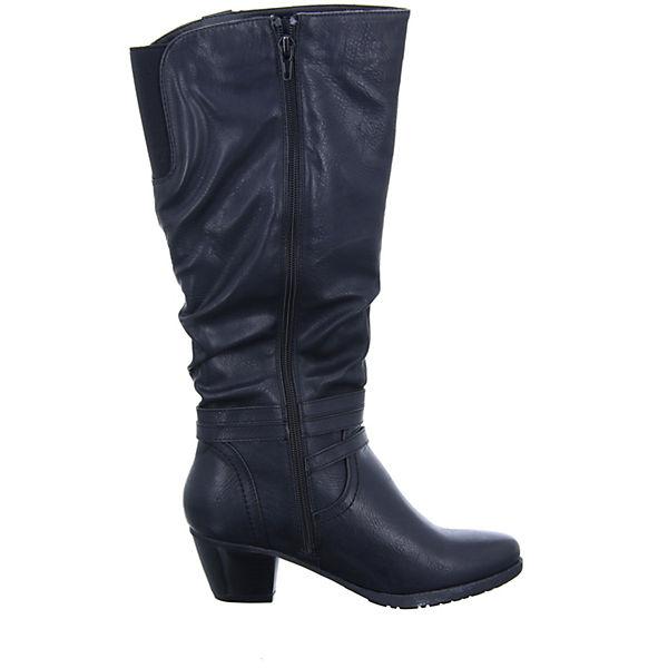 Alyssa, 1288-76 Weitschaftstiefel, schwarz Schuhe  Gute Qualität beliebte Schuhe schwarz a4a405