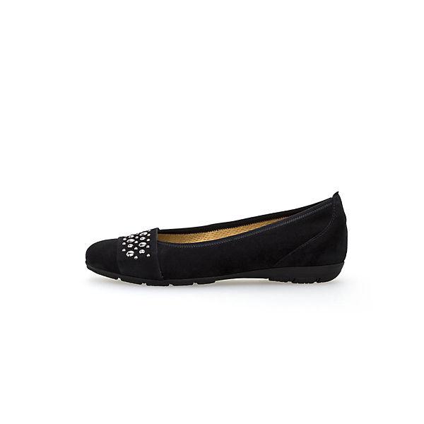Gabor, Klassische Ballerinas, blau Schuhe  Gute Qualität beliebte Schuhe blau e1389b