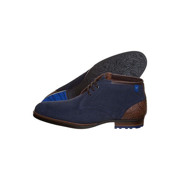 Stiefeletten Floris Bommel Klassische van blau trt5aqwx