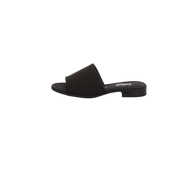 Gabor, Pantoletten, schwarz  Gute Qualität beliebte Schuhe