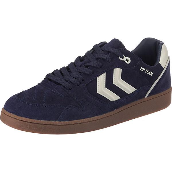 Low Hb hummel dunkelblau Team Sneakers RFWaOq