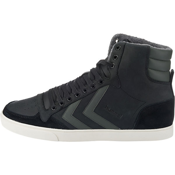 hummel, Slimmer Stadil Duo Oiled Sneakers Qualität High, anthrazit  Gute Qualität Sneakers beliebte Schuhe a771a2