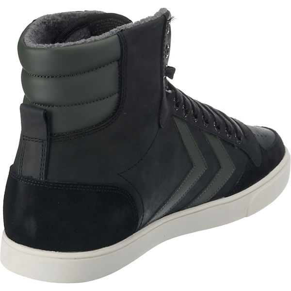 High Hummel Slimmer Stadil Sneakers Oiled Duo Anthrazit gb6f7y
