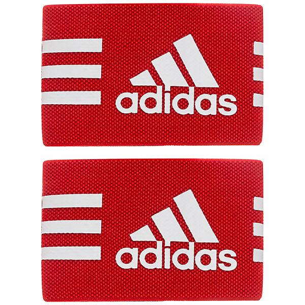 Schienbeinschonerhalter Stutzen Performance weiß adidas rot Strap Ankle 4qFOA1Awc