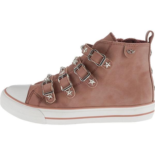 Fritzi aus aus aus Preußen Perla Sneakers High rosa/natur  Gute Qualität beliebte Schuhe 5f6800