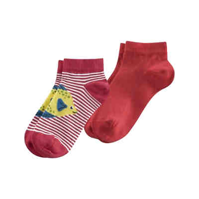 Kinder Sneaker-Socken, 2er-Pack, Organic Cotton