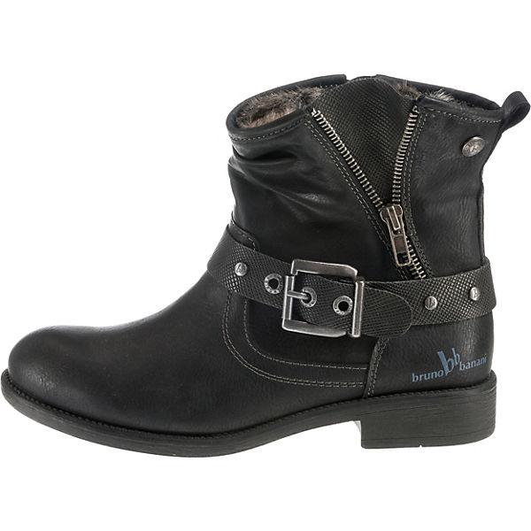bruno  banani, Winterstiefeletten, schwarz  bruno Gute Qualität beliebte Schuhe d57c8e