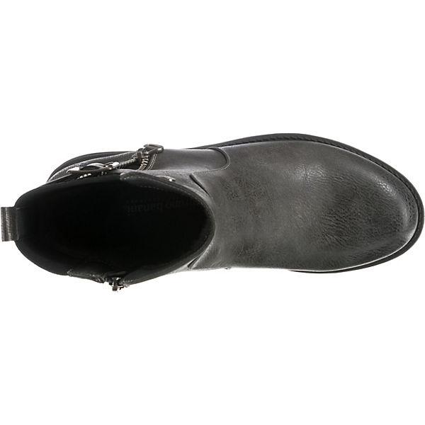 bruno banani, Klassische dunkelgrau Stiefeletten, dunkelgrau Klassische   190e9d