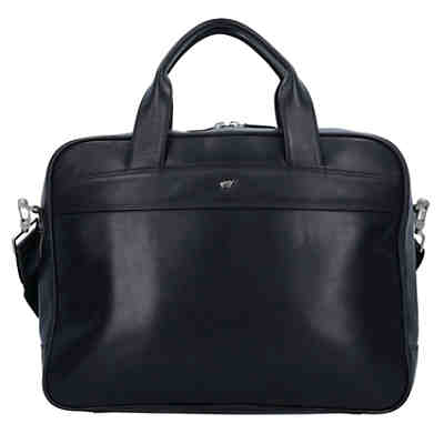 Golf Leder 39 cm Laptopfach Aktentaschen
