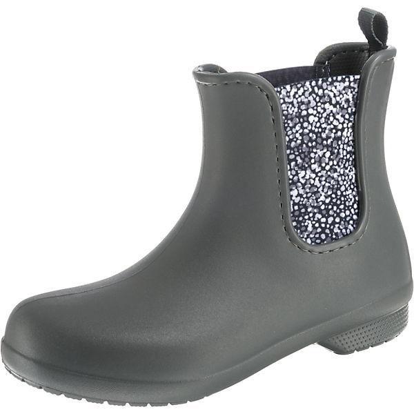 W crocs Gummistiefel Dot Freesail Crocs grau SGy Boot Chelsea zvZqa
