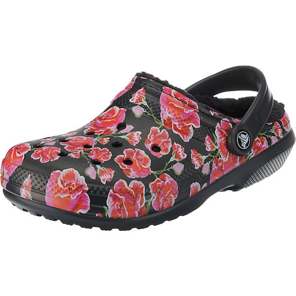 Classic Lined Graphic II Clog Red/Blk Clogs