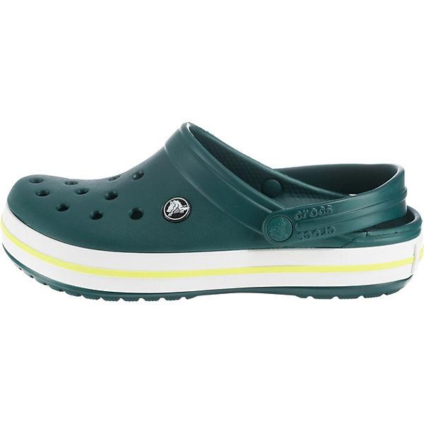 crocs, Crocband EvGr/TBG grün-kombi Clogs, grün-kombi EvGr/TBG   2868e5