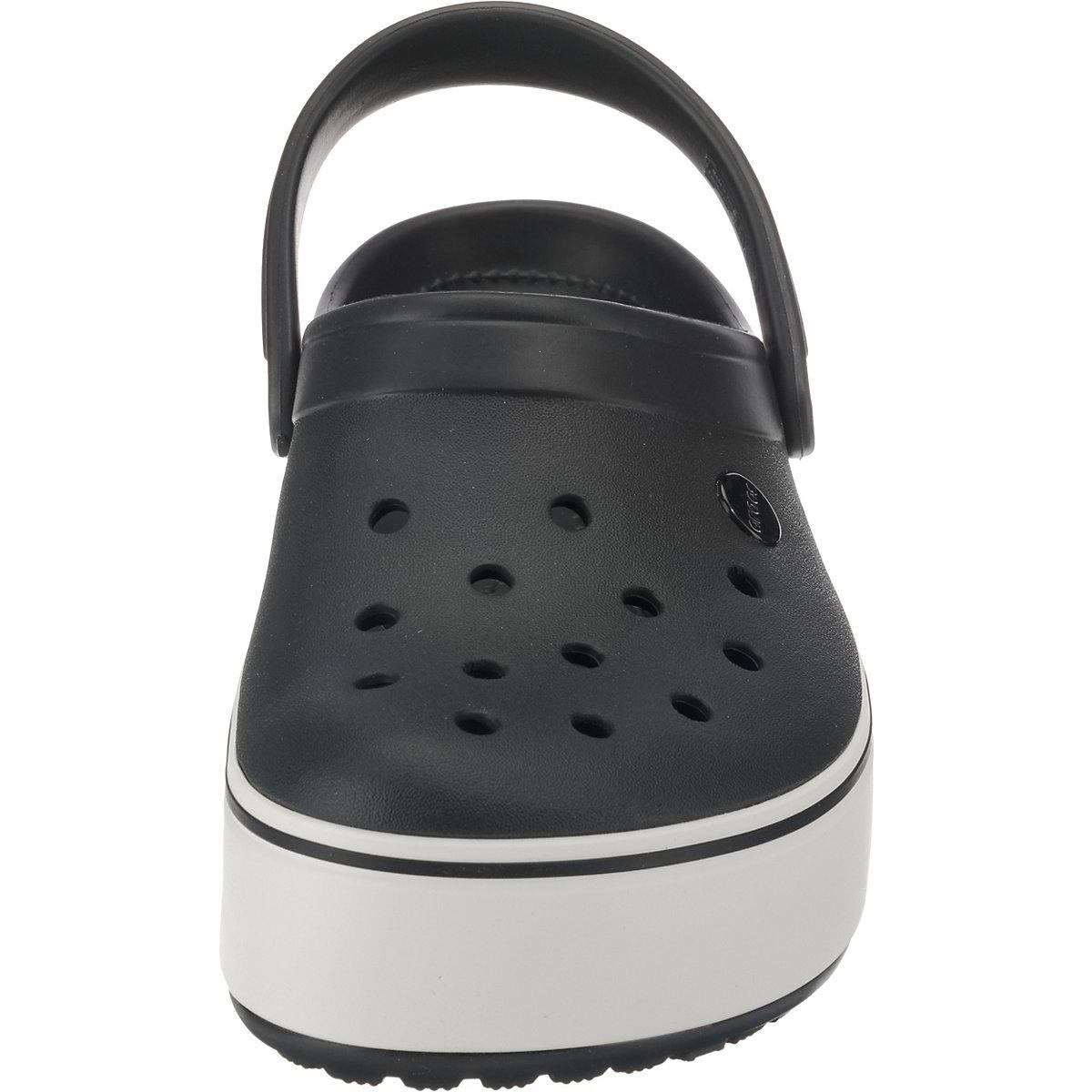 crocs Crocband Platform Clog Blk/Whi Clogs schwarz-kombi