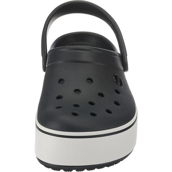 crocs, Crocband schwarz-kombi Platform Clog Blk/Whi Clogs, schwarz-kombi Crocband  Gute Qualität beliebte Schuhe ee10ce