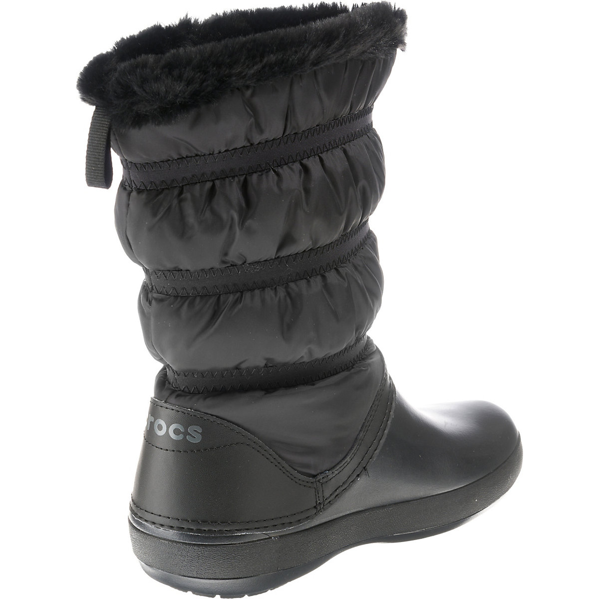 crocs Crocband Winter Boot W Winterstiefel schwarz