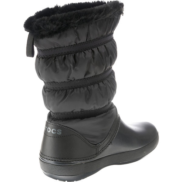 crocs Winterstiefel Blk Crocband schwarz W Winter Blk Boot fAqgxf8w6