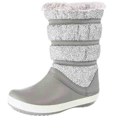 Crocband Winter Boot W Dot/Smo Winterstiefel