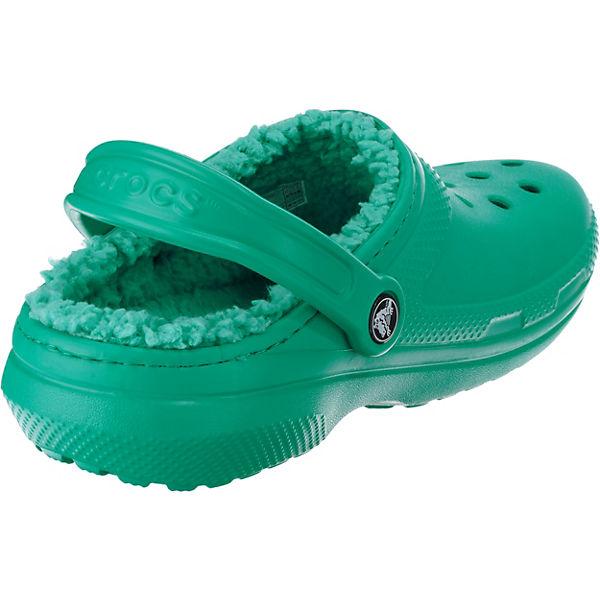 crocs, Classic Clogs, Lined Clog TTl/TTl Clogs, Classic türkis   ec57af