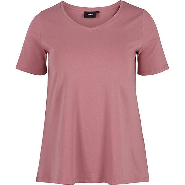 Shirt T rosa T Shirt Zizzi Zizzi HznS1qwIZ
