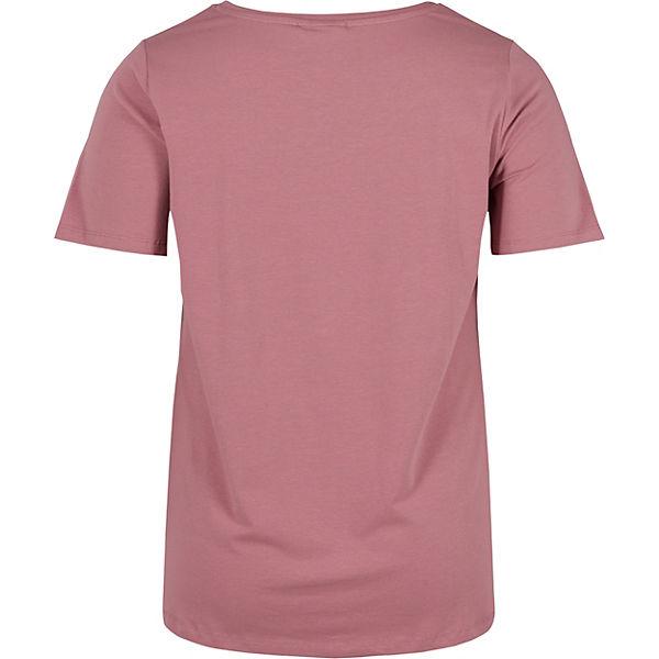 rosa Shirt T Zizzi rosa Shirt Zizzi Zizzi T UPxwgA0