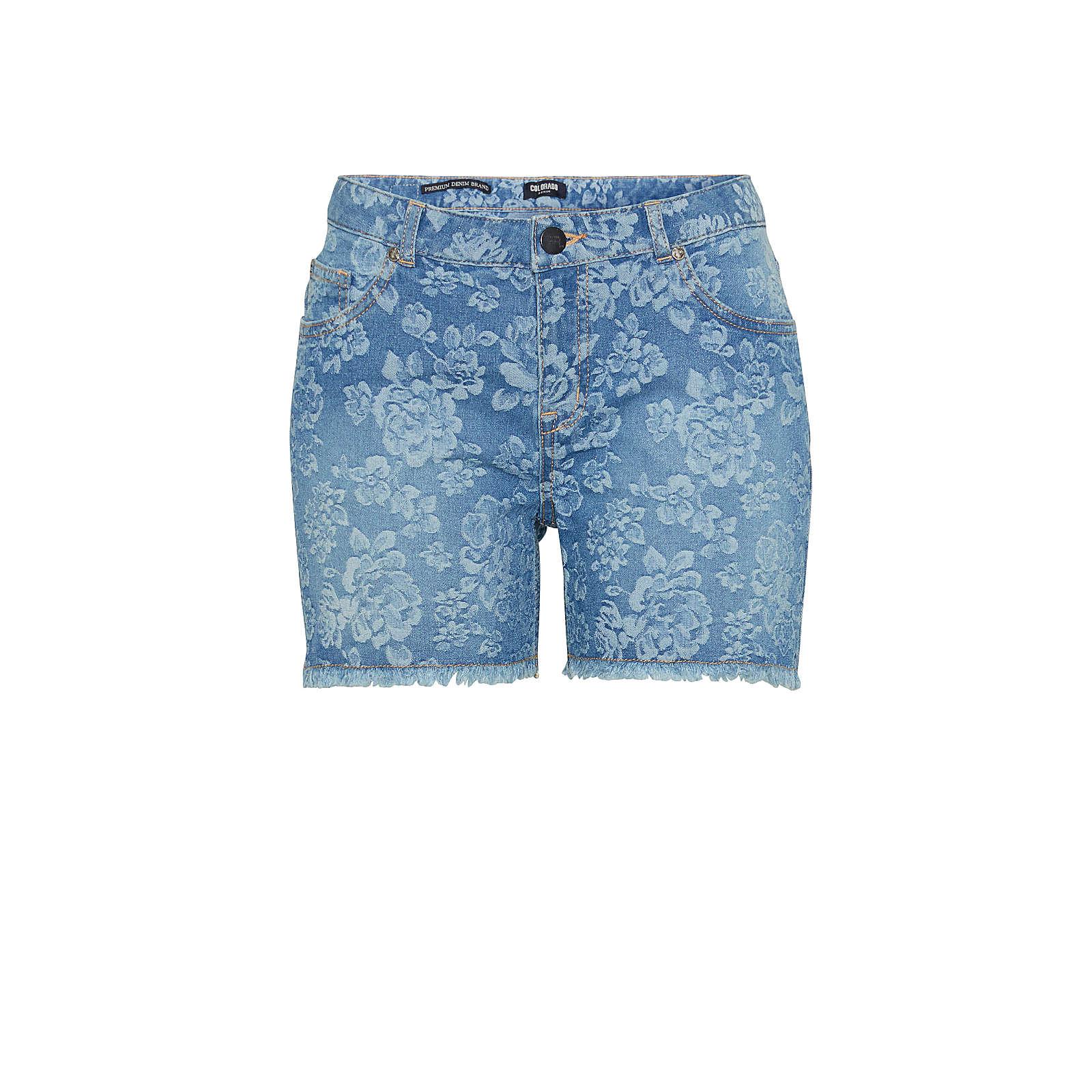 COLORADO DENIM Shorts blau Damen Gr. 28
