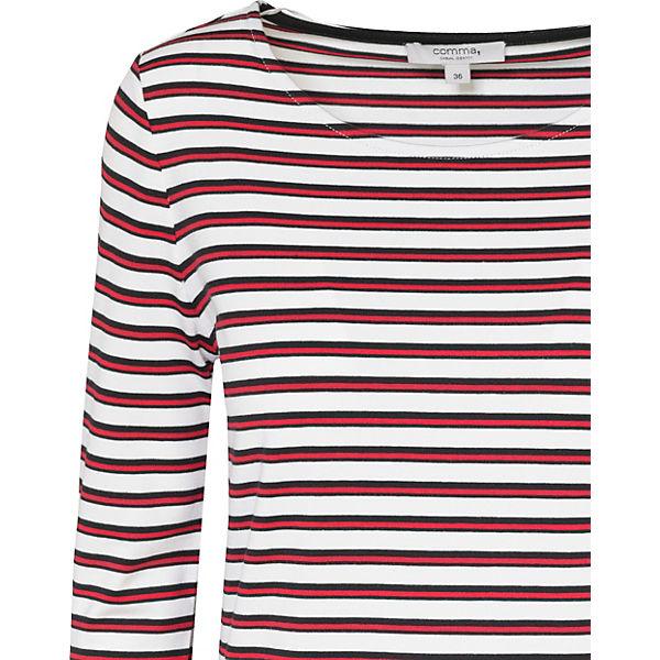 Casual 3 Identity rot Shirt 4 Comma Arm 1qEdEW