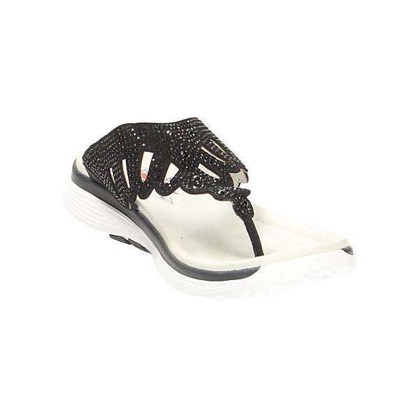 Gabor, Zehentrenner, beliebte blau  Gute Qualität beliebte Zehentrenner, Schuhe 0e5aa4