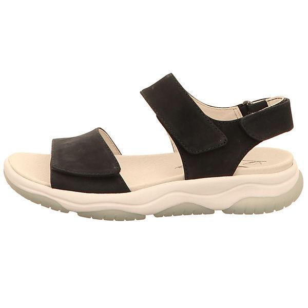 Gabor, Klassische Sandalen, schwarz Gute Qualität beliebte Schuhe