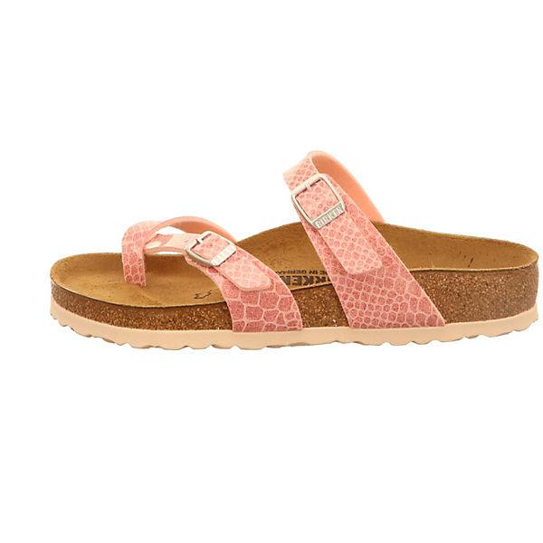 BIRKENSTOCK, Zehentrenner, beliebte pink  Gute Qualität beliebte Zehentrenner, Schuhe 9171a5