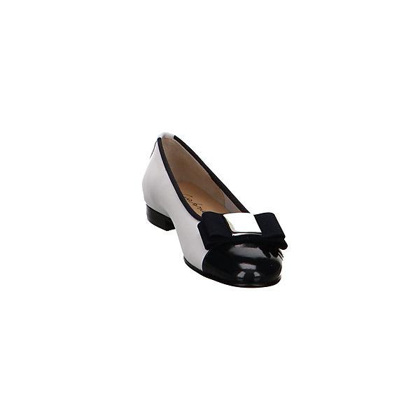 Gabrielle, Klassische Ballerinas, schwarz/weiß beliebte  Gute Qualität beliebte schwarz/weiß Schuhe cca25a