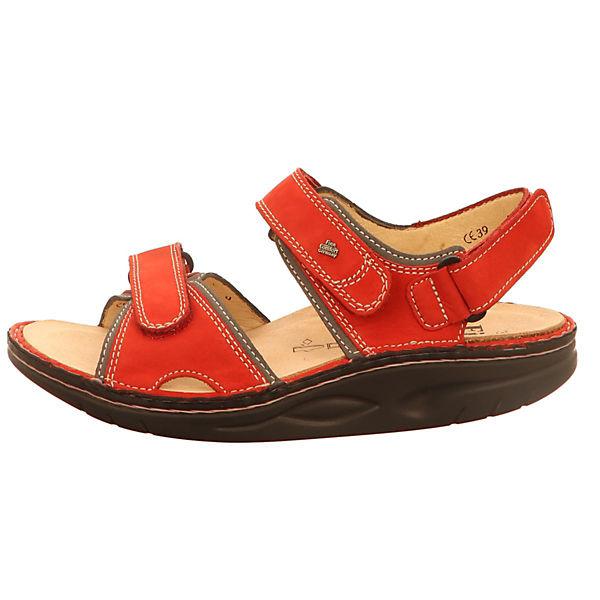 Finn Comfort, Klassische Sandalen, rot  Gute Qualität beliebte Schuhe