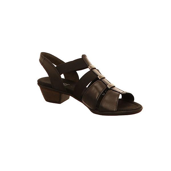 schwarz Sandaletten schwarz Klassische Gabor Gabor Sandaletten Gabor Klassische Klassische Sandaletten qW8awzC