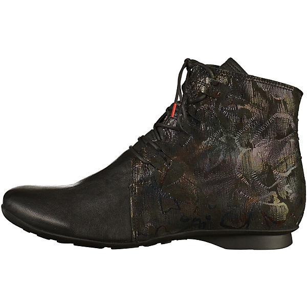 Think!, Schnürstiefeletten, schwarz  Gute Qualität beliebte Schuhe