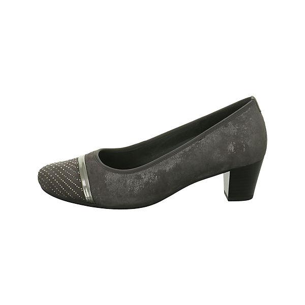 Gabor, Klassische Pumps, grau  Schuhe Gute Qualität beliebte Schuhe  2caef3