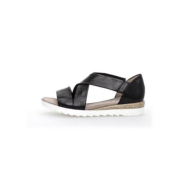 Gabor, Klassische Sandalen, schwarz  Schuhe Gute Qualität beliebte Schuhe  545f25