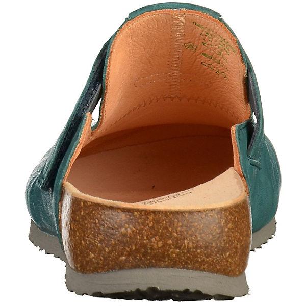 Think!, Pantoletten, petrol  Gute Qualität Qualität Gute beliebte Schuhe 5daecd