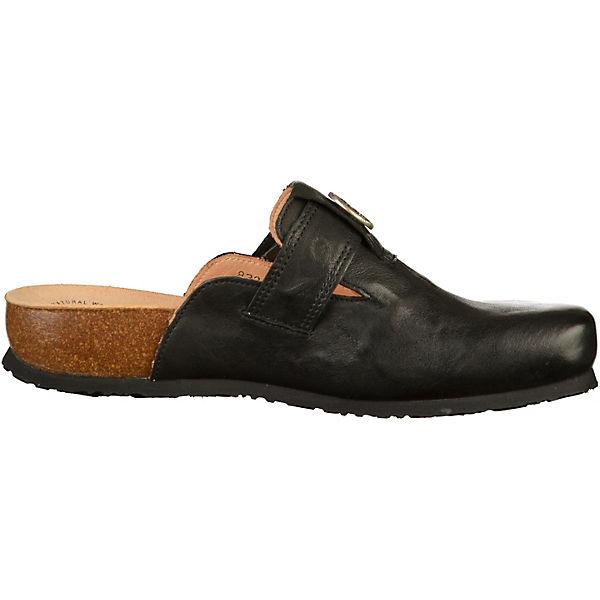 Think!, Qualität Pantoletten, schwarz  Gute Qualität Think!, beliebte Schuhe 086ec5
