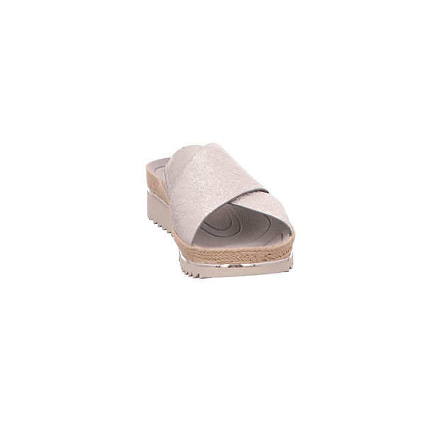 Gabor, Gabor, Gabor, Pantoletten, silber  Gute Qualität beliebte Schuhe 8e1b06