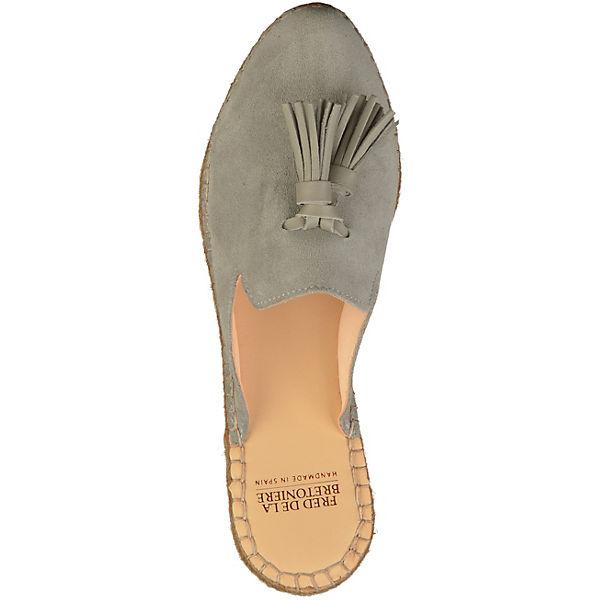 Fred de la Bretonière, Pantoletten, beliebte hellgrau  Gute Qualität beliebte Pantoletten, Schuhe 7b3ef1