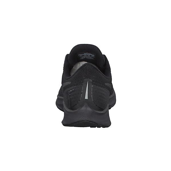 Zoom 942851 Air schwarz Pegasus abgeschrägter Laufschuhe mit NIKE 35 002 Ferse qCTHwA
